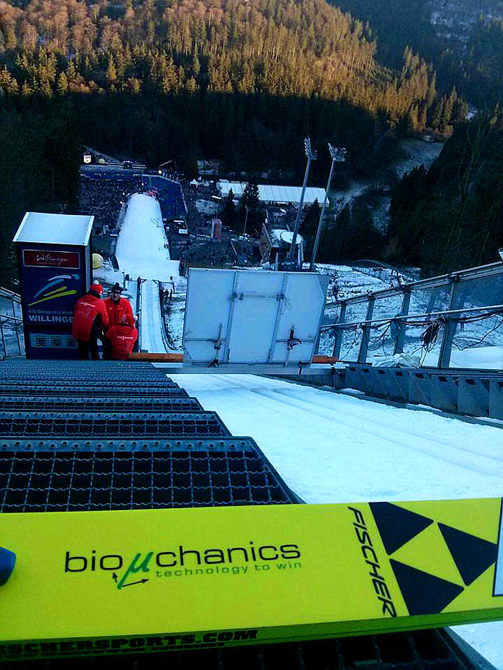 bioµchanics beim Weltcup in Willingen